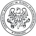 logo Uniwersytet Medyczny im. Karola Marcinkowskiego w Poznaniu